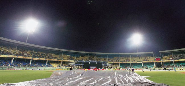Heavy rains snatched four-day games from Visakhapatnam | PTI