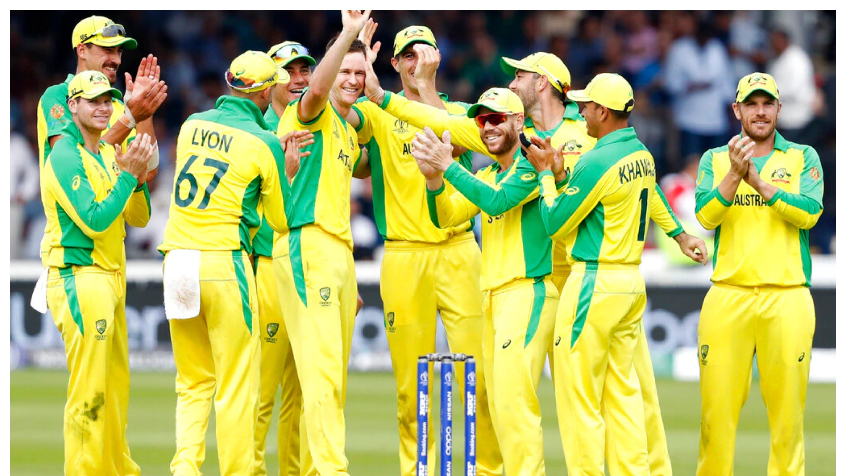 ENG v AUS 2020: Australia announces 21-member squad for white-ball tour of England in September