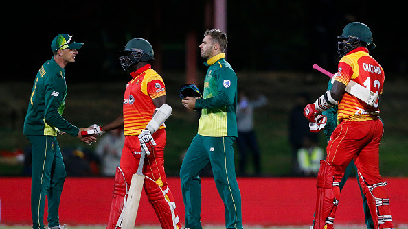 SA vs ZIM 2018 : T20I Series - Statistical Preview