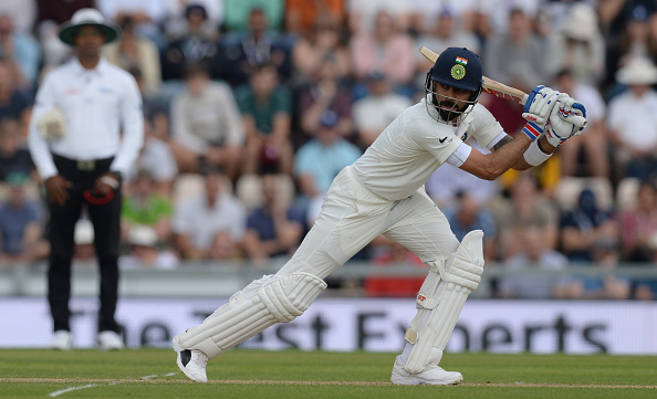 Virat Kohli scored 46 and in process completed his 6,000 runs in Tests in 119 innings | Getty
