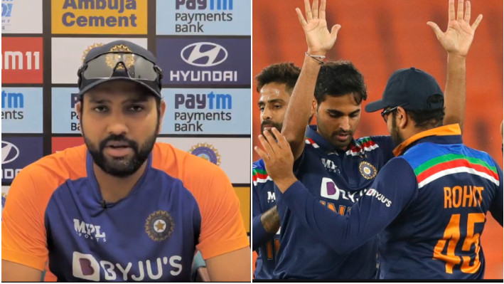 IND v ENG 2021: Rohit Sharma says Bhuvneshwar Kumar has taken responsibility very well as a lead fast bowler