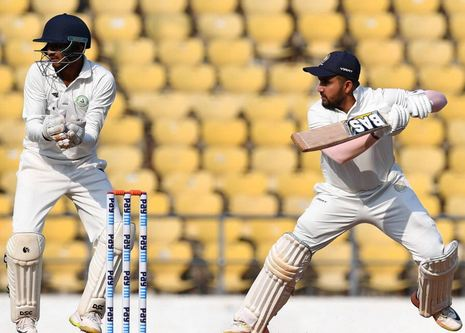 Snell Patel hit a century in the finals of the Ranji Trophy 2018/19