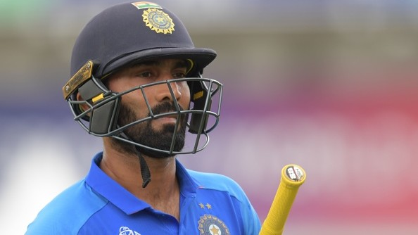 Dinesh Karthik reacts on becoming first batsman to be dismissed 'hit wicket' across formats
