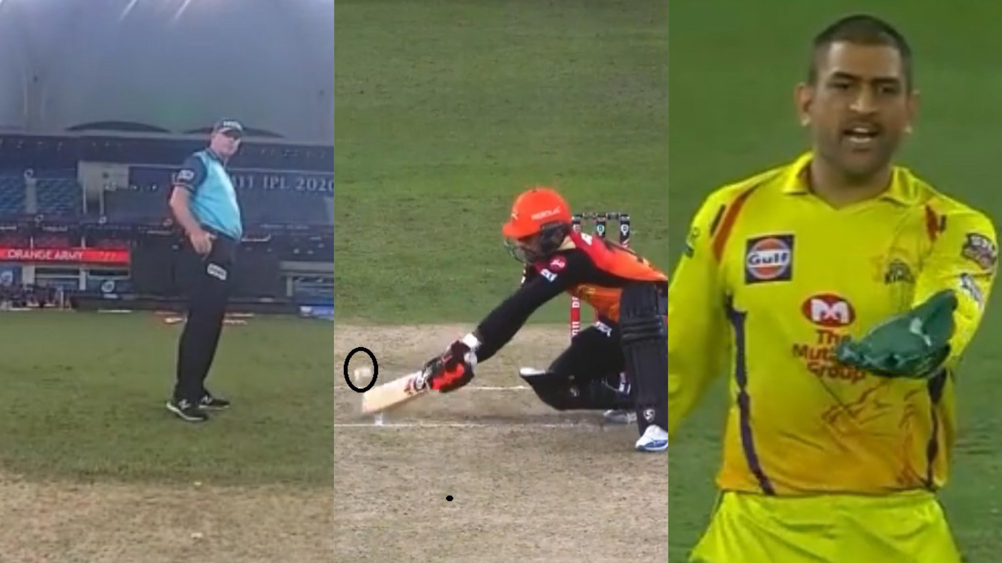IPL 2020: WATCH - Umpire Paul Reiffel doesn't call wide after angry reaction from MS Dhoni