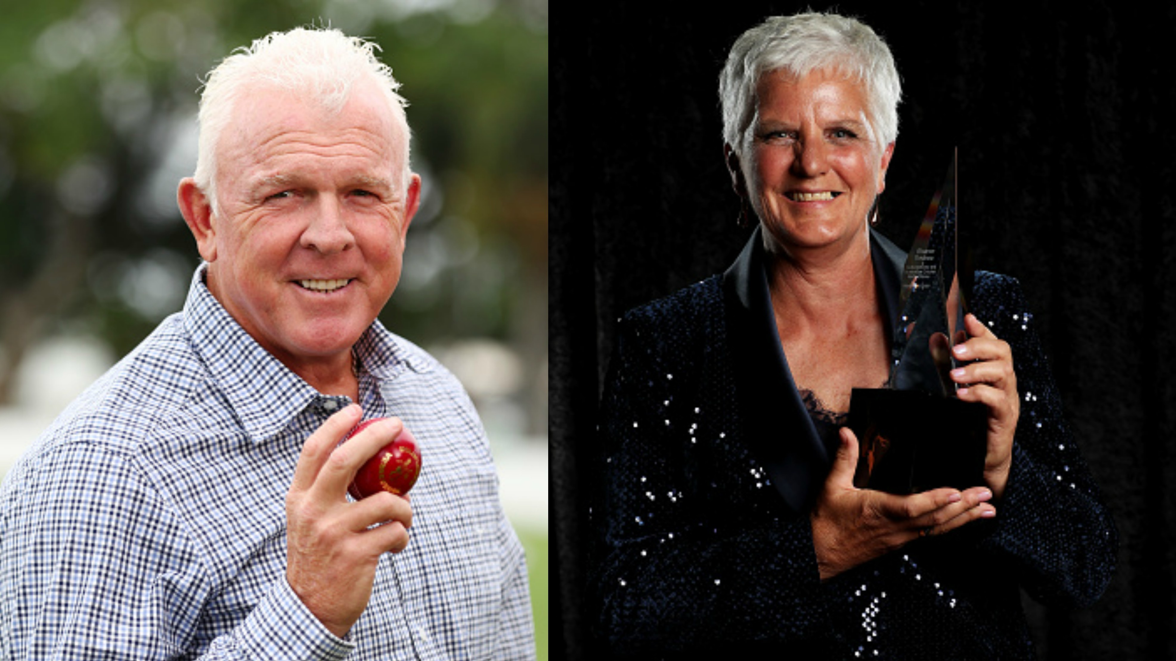 Craig McDermott and Sharon Tredrea inducted into the Australian Cricket Hall of Fame