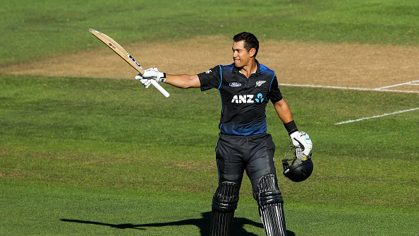 Ross Taylor defies injury to play the
