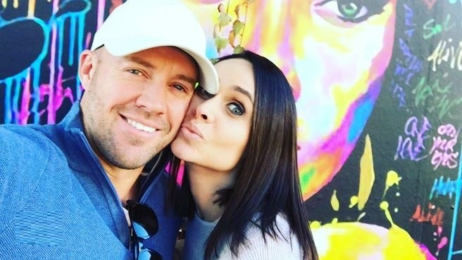 CWC 2019: Danielle shuts down a fan who called her the reason behind husband AB de Villiers' retirement