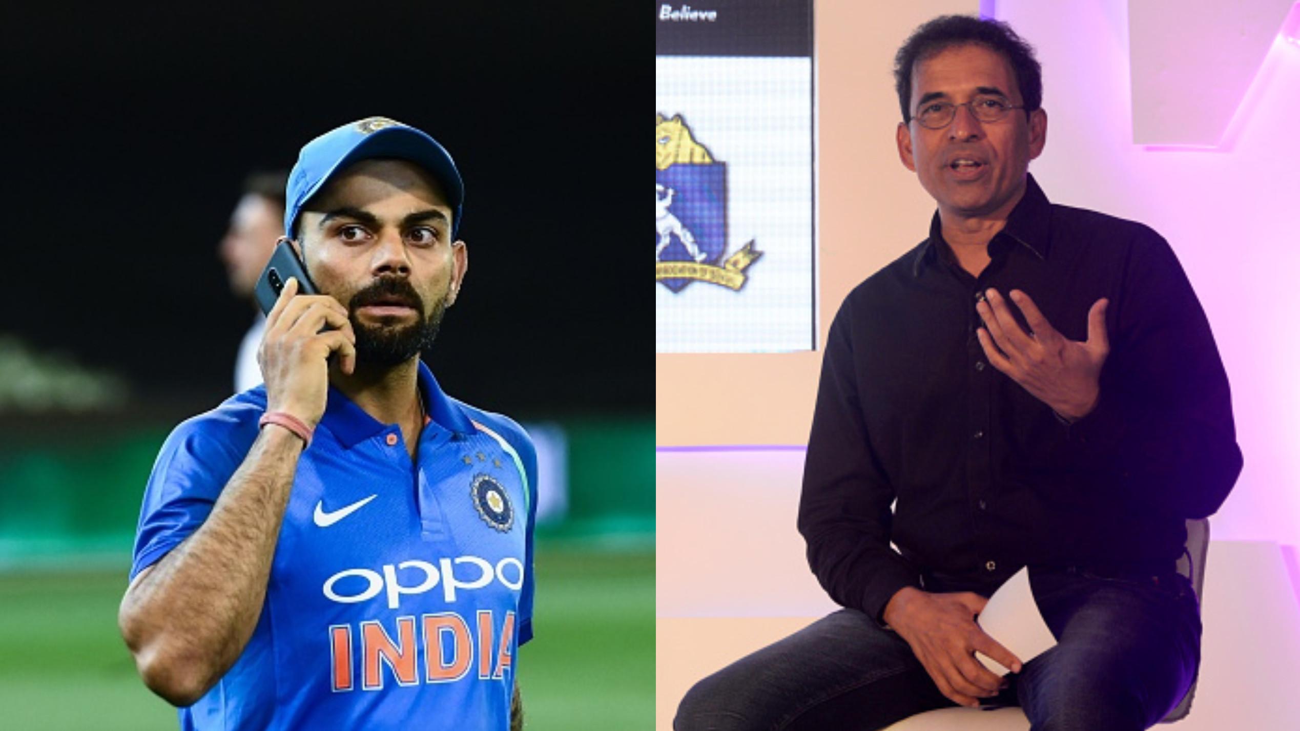 CWC 2018 : हर्षा भोगले ने विश्व कप में विराट कोहली को नम्बर चार पर बल्लेबाज़ी करने का दिया सुझाव
