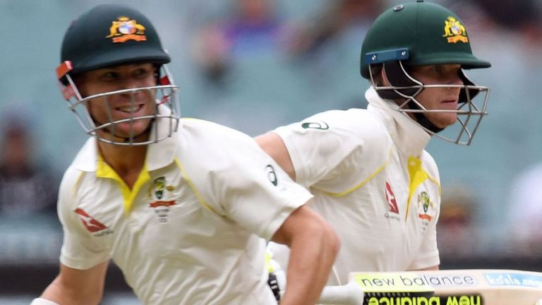 David Warner and Steve Smith | Getty