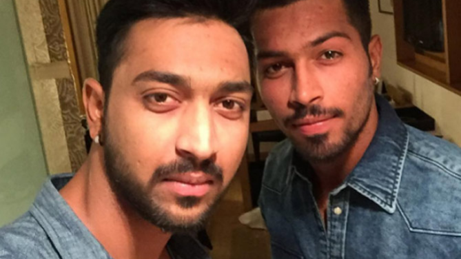 WATCH: Hardik Pandya reveals he used to try WWE moves on his brother Krunal