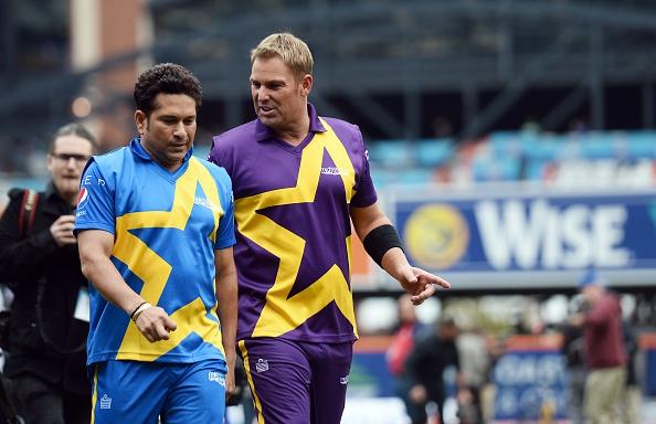 Shane Warne and Sachin Tendulkar | Getty