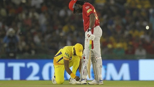 IPL 2018:  Watch –Dwayne Bravo's moment of sportsmanship  in KXIP- CSK contest