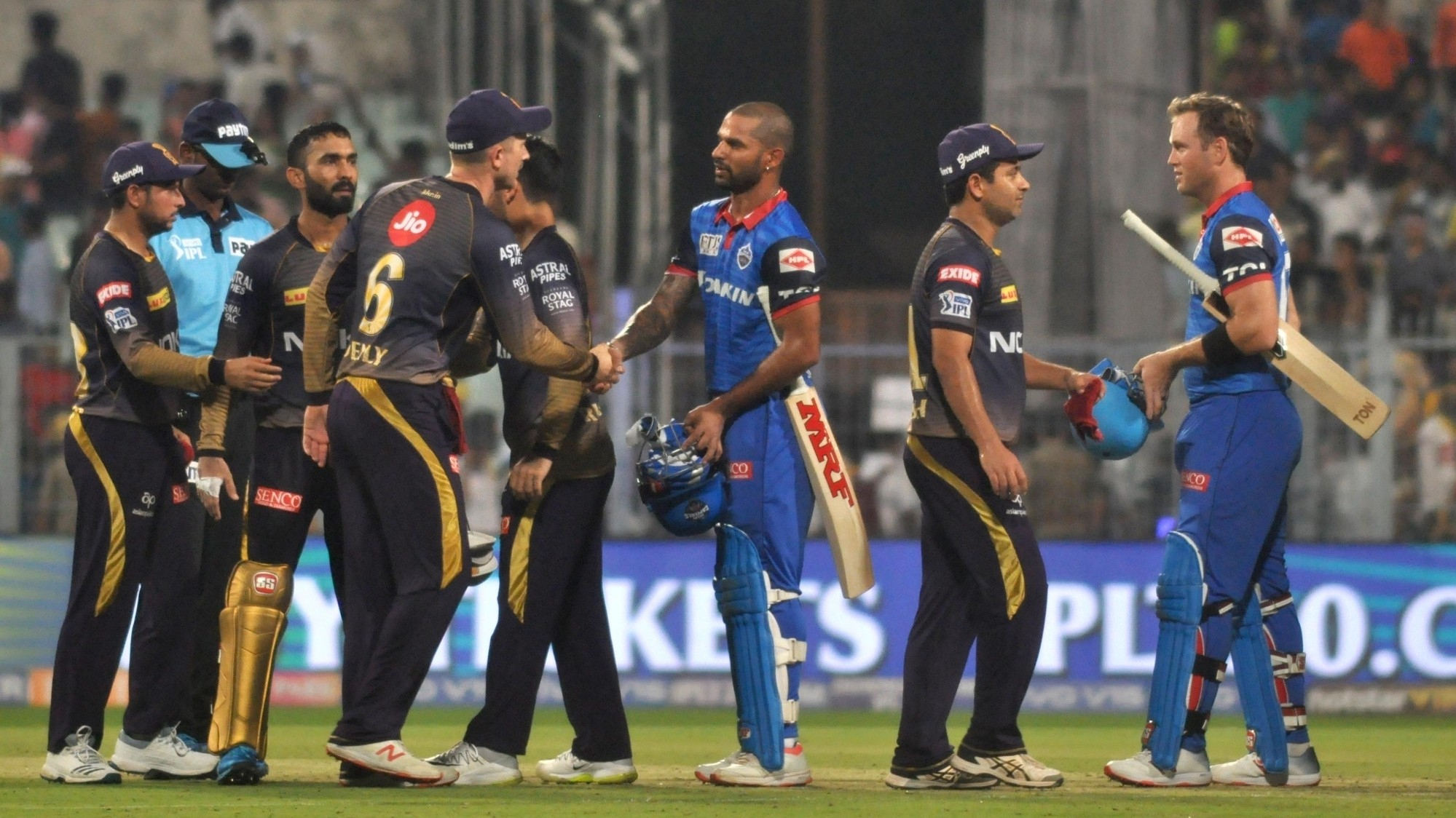 IPL 2019: Match 26, KKR v DC - Statistical Highlights