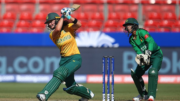 Women's T20WC 2020: Laura Wolvaardt makes fifty as South Africa beats Pakistan to reach semis