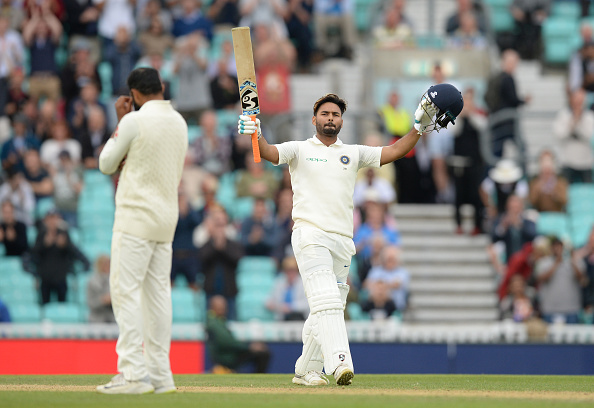 Rishabh Pant also registered his maiden Test century during the England Test series | Getty