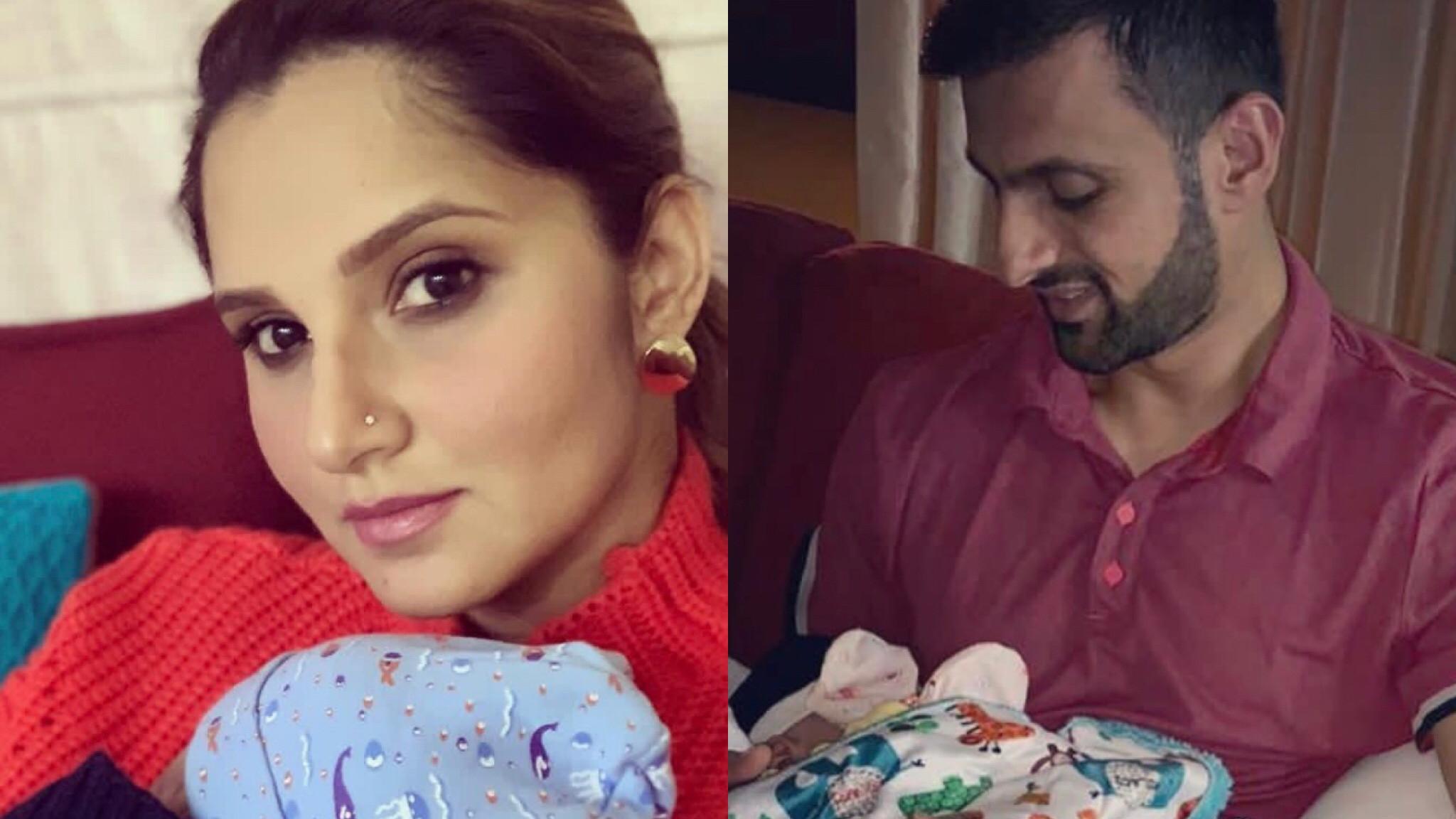 Shoaib Malik and Sania Mirza upload first picture of their son, Izhaan Mirza Malik