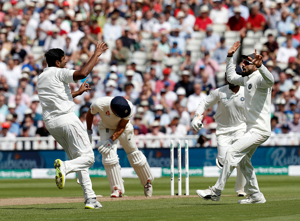 Ashwin got rid of Alastair Cook with a beauty | Getty