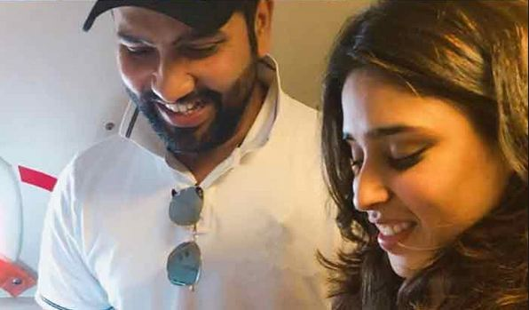 Rohit Sharma and Ritika were married in Dec 2015 and blessed with a baby girl in Dec 2018