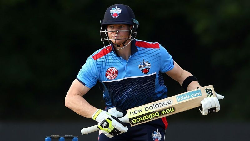 Steve Smith playing in Canada T20 League | Reuters