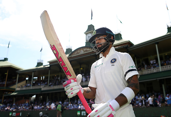 Virat Kohli was seen supporting Pink Test at the SCG | Getty Images