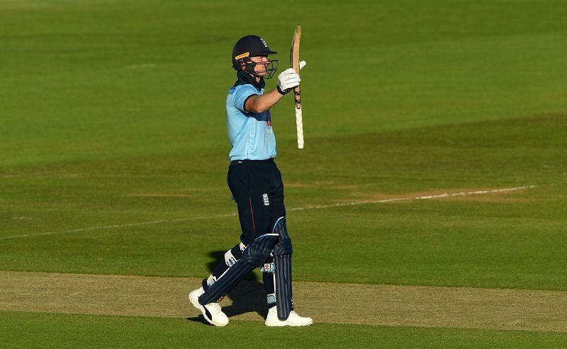 Billings celebrate his third ODI fifty | skysports