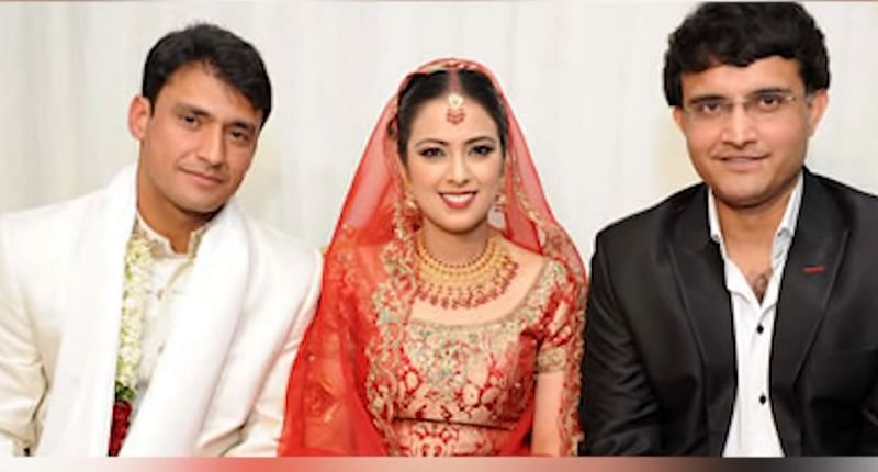 Sourav Ganguly attended Yasir Arafat's marriage   Twitter