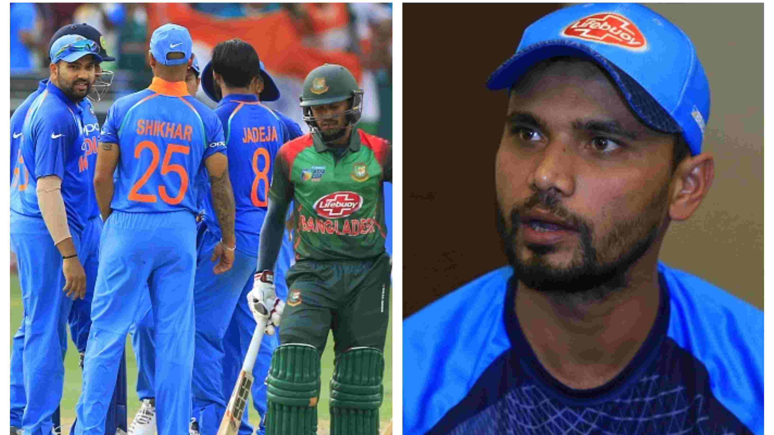ASIA CUP 2018: India is a far better team but anything can happen in the final, says Mashrafe Mortaza