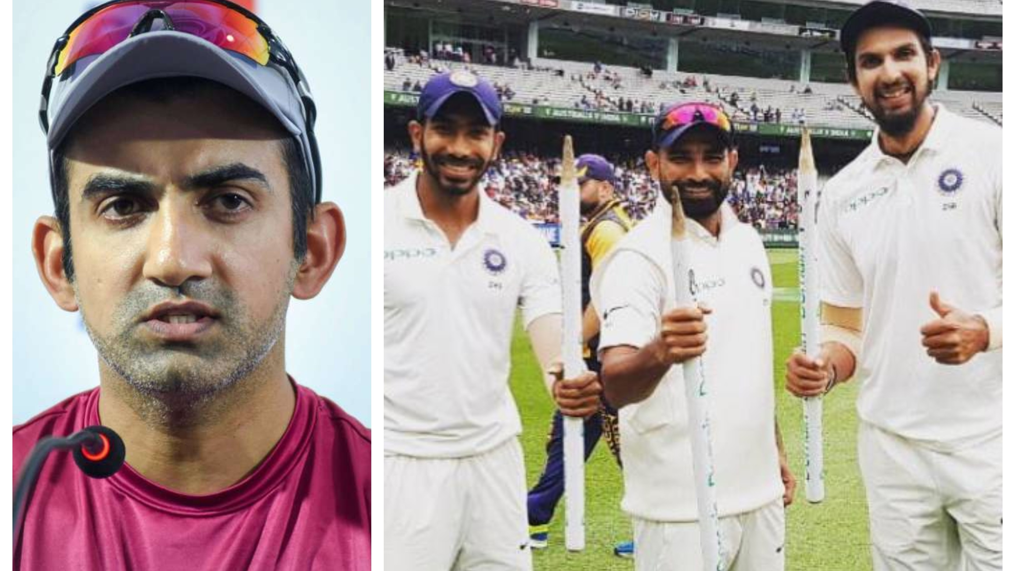 Gambhir pins hopes on Indian pacers to rattle Australian batting line-up even with Smith, Warner