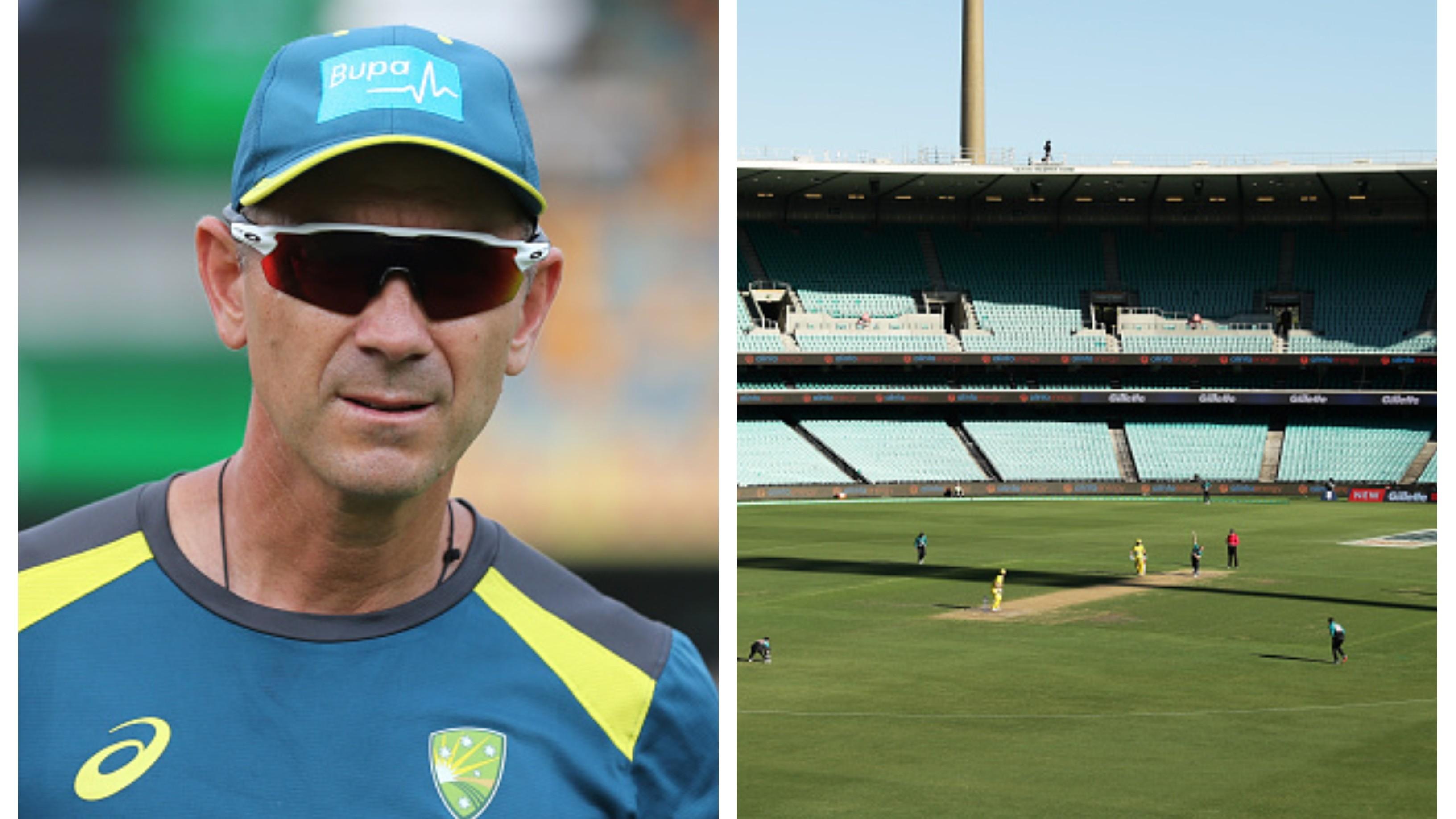 Justin Langer bats for cricket behind closed doors amid COVID-19 pandemic