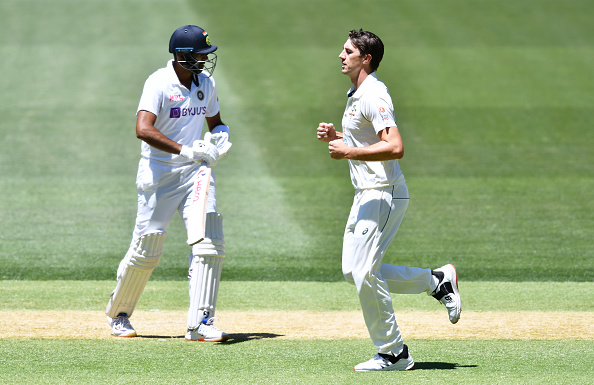 Ashwin had another poor Test with the bat in Adelaide   Getty