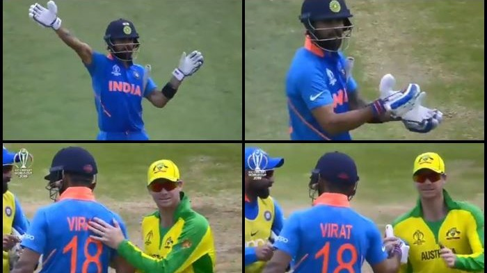 CWC 2019: Cricket fraternity applauds Virat Kohli for his amazing gesture towards Steve Smith