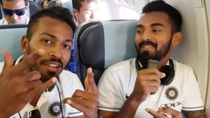 WATCH: KL Rahul says beware when you hang out with Hardik Pandya