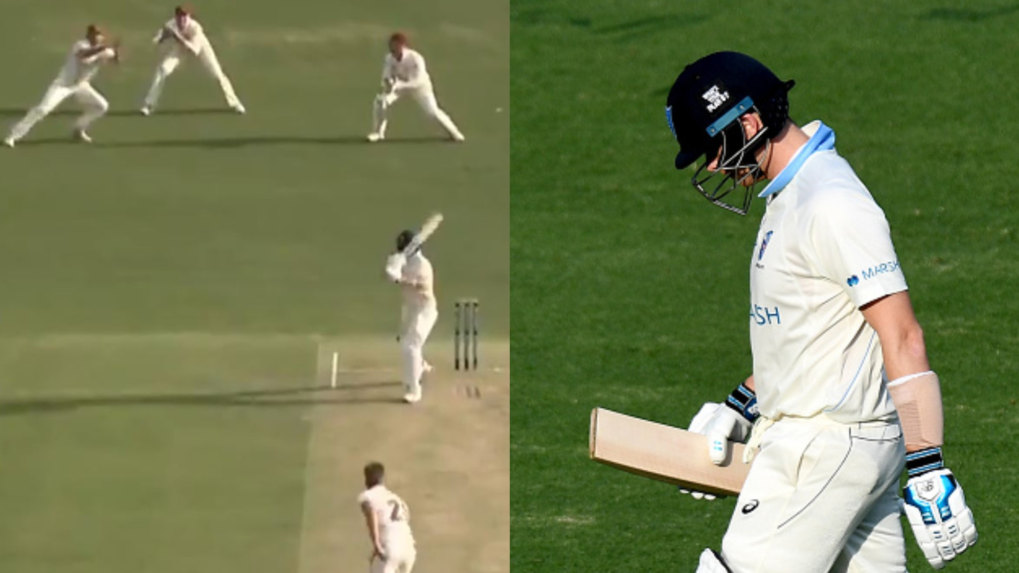 WATCH – Steve Smith scores a duck on Sheffield Shield return for New South Wales