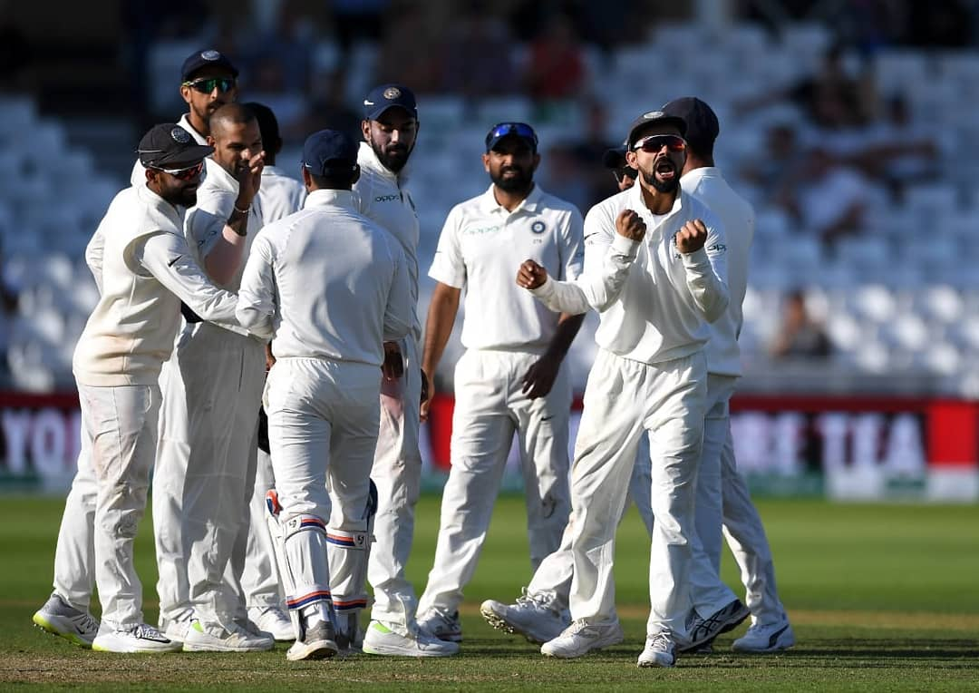 India won third Test by 203 runs | Twitter