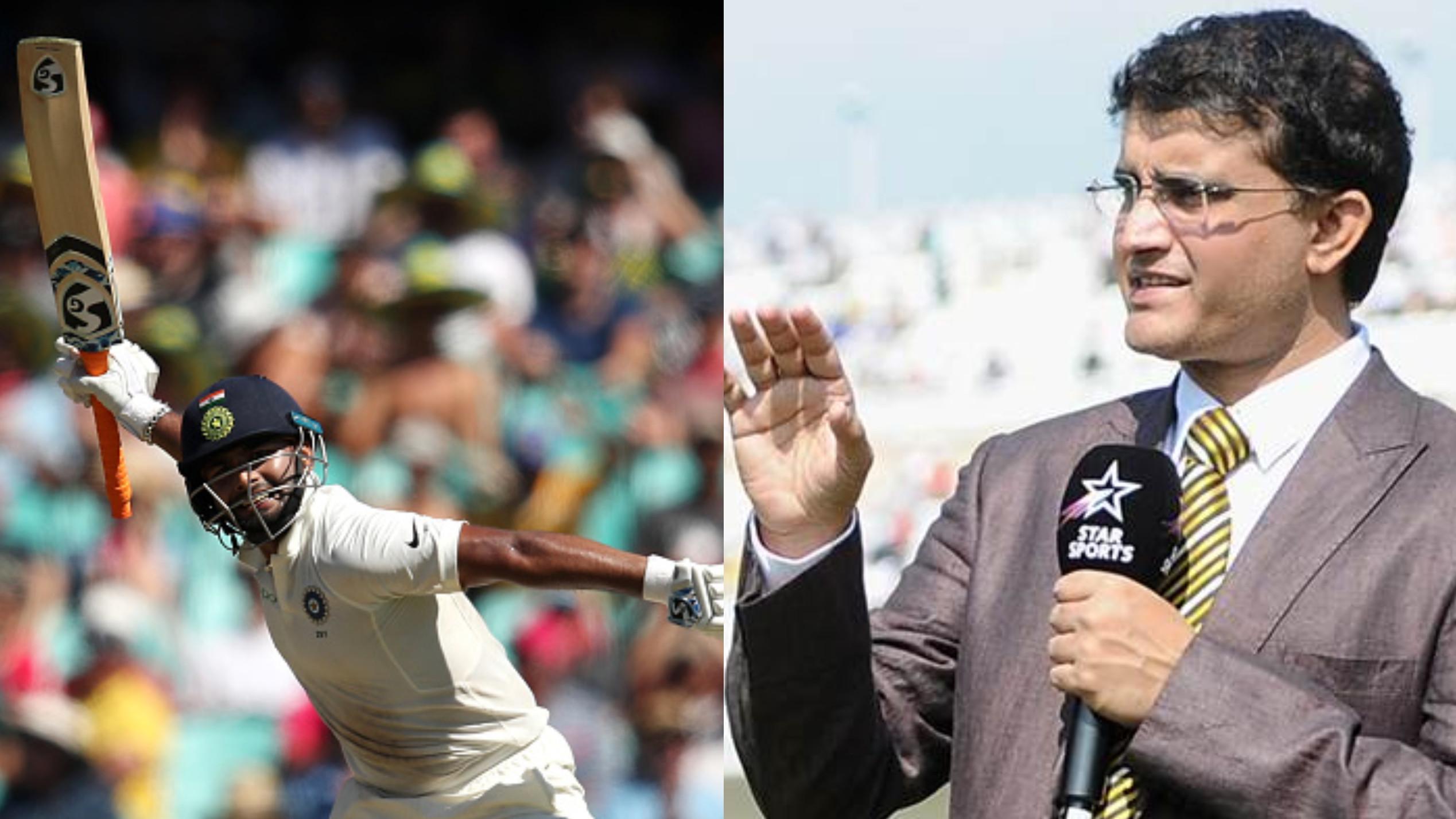 AUS v IND 2018-19: सौरव गांगुली ने रिषभ पंत को भारतीय क्रिकेट का अगला सुपरस्टार घोषित किया