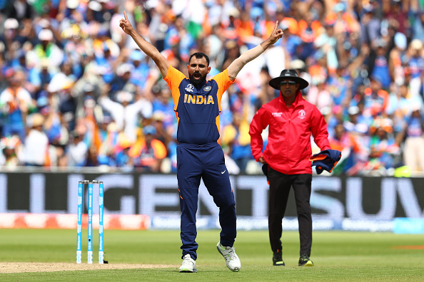 Mohammad Shami was the pick of Indian bowlers with a five-wicket haul