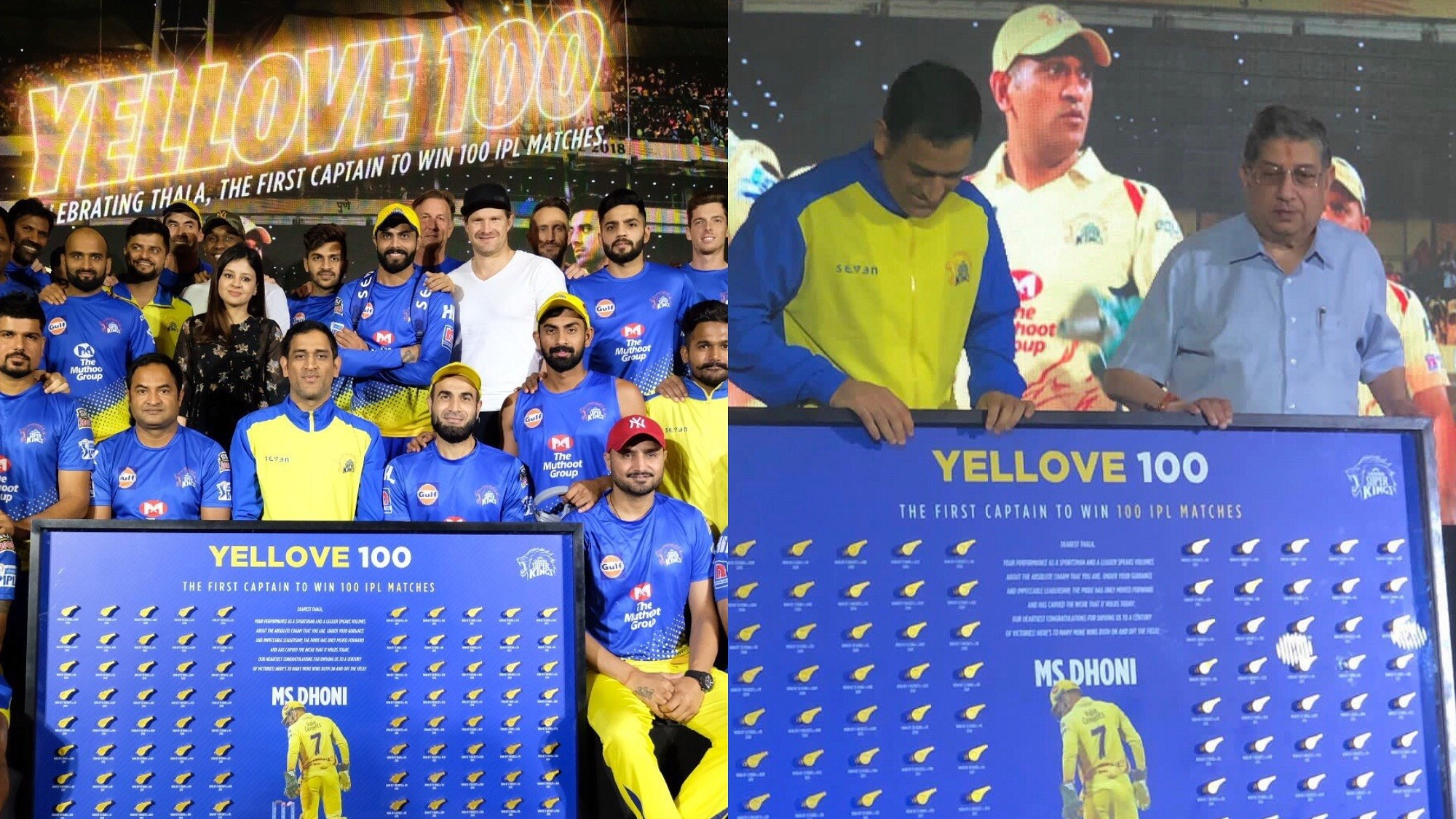 IPL 2019: Sakshi Dhoni congratulates 'Thala' MS Dhoni on 100 IPL wins as captain