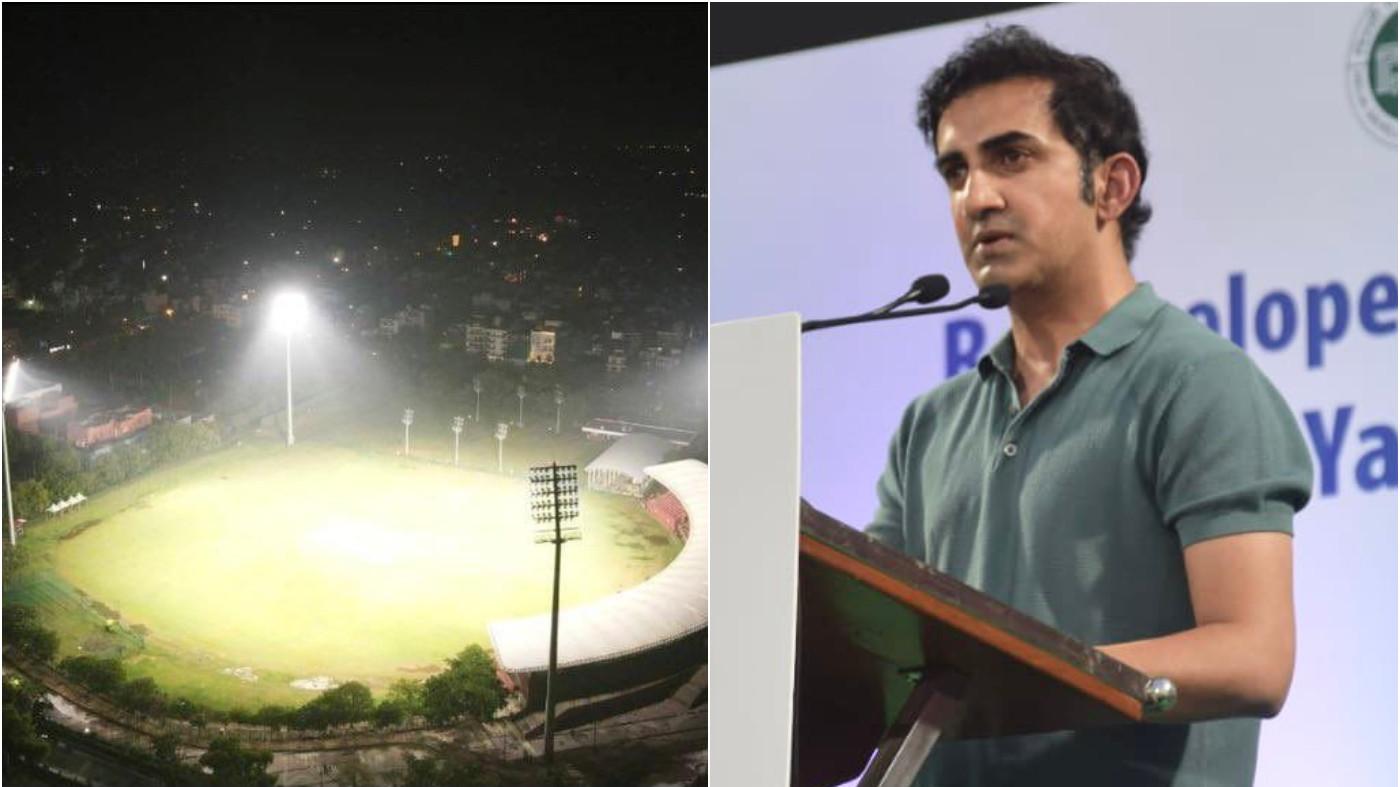 Gautam Gambhir announces East Delhi Premier League at newly revamped Yamuna Sports Complex