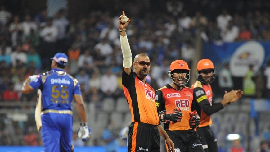 IPL 2018: घरेलू मैदान पर भी हार का सिलसिला नहीं तोड़ पायी मुंबई इंडियंस; हैदराबाद ने किया 118 रनो का बचाव