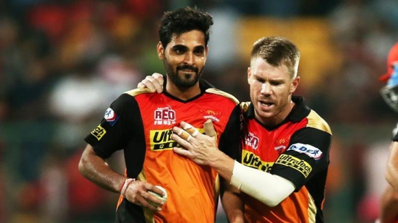 David Warner and Bhuvneshwar Kumar were retained by SRH