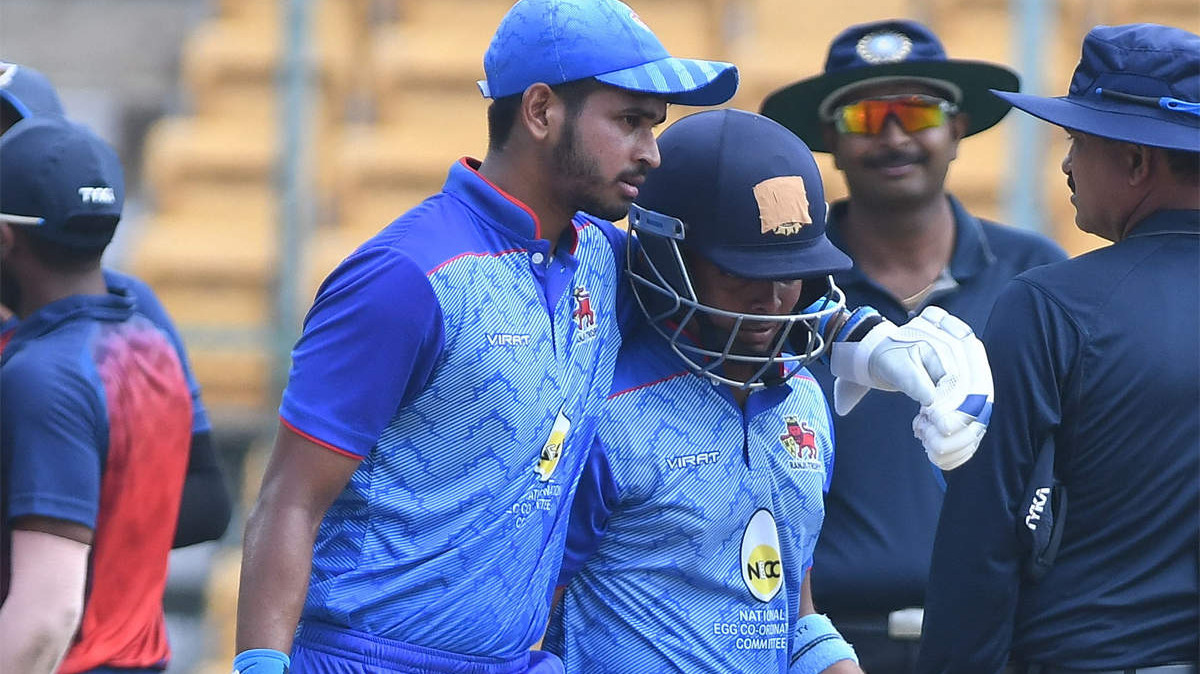 Vijay Hazare Trophy 2018-19: Mumbai makes it to finals with VJD win over Hyderabad; Shaw, Iyer score fifties