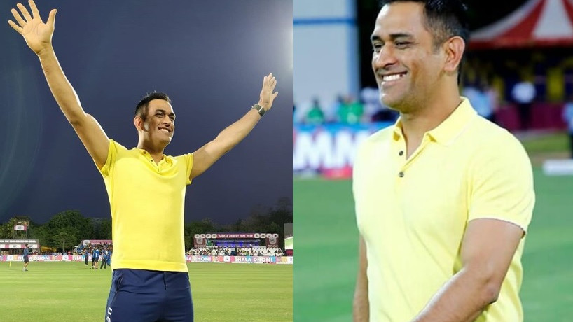 WATCH: MS Dhoni pays a surprise visit to Tamil Nadu Premier League