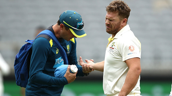 AUS v IND 2018-19: Aaron Finch shares his finger injury update ahead of the Boxing Day Test