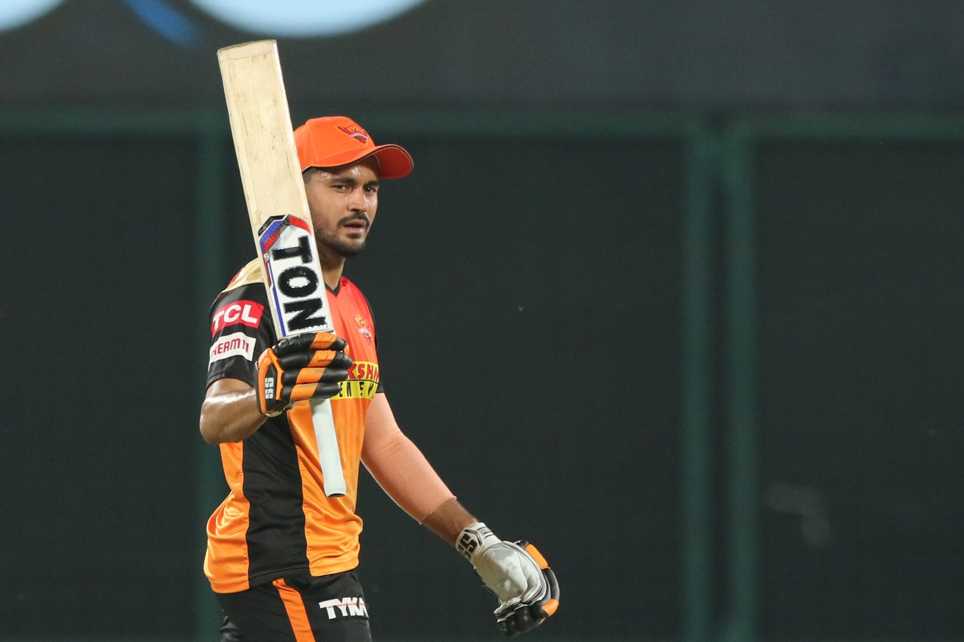 Manish Pandey played a gutsy knock of 61 runs off 46 balls against CSK | BCCI/IPL