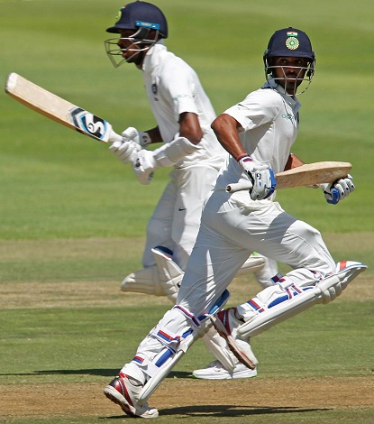 Pandya and Bhuvneshwar added 99 runs for the 8th wicket | Reuters