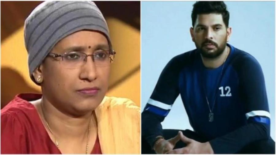 युवराज सिंह ने कैंसर से जूझ रही केबीसी प्रतियोगी आरती कुमारी के साहस को सराहा