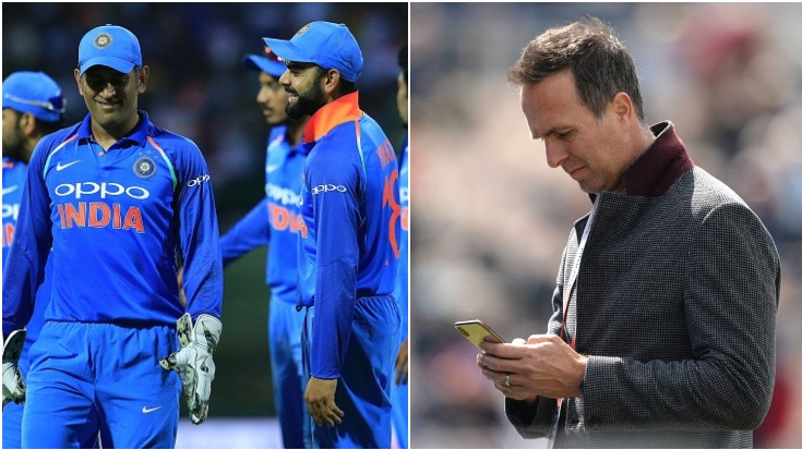 Michael Vaughan picks best white-ball captain among MS Dhoni and Virat Kohli