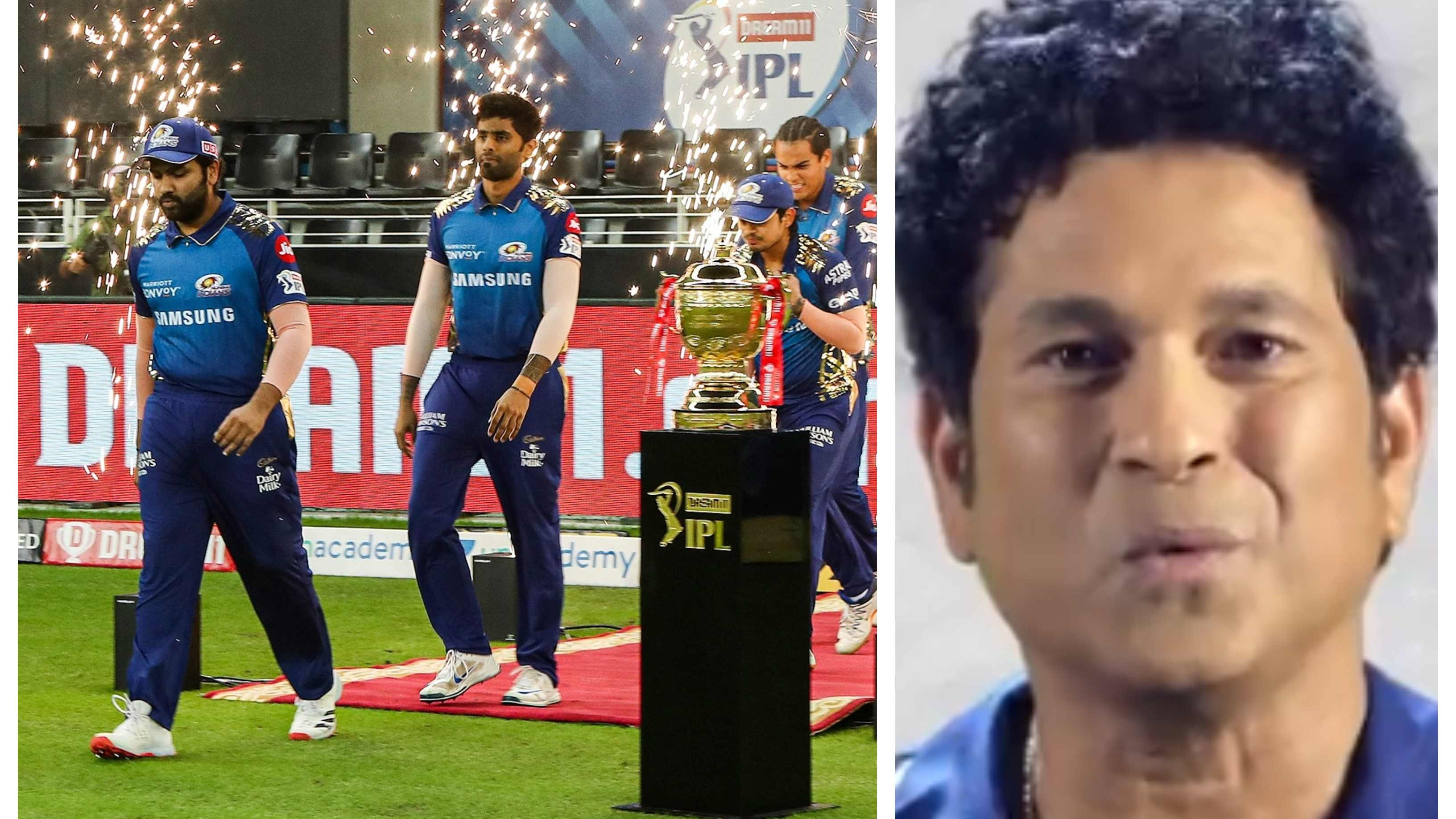 IPL 2020: WATCH – Sachin Tendulkar delivers a motivational speech for Mumbai Indians on the eve of final