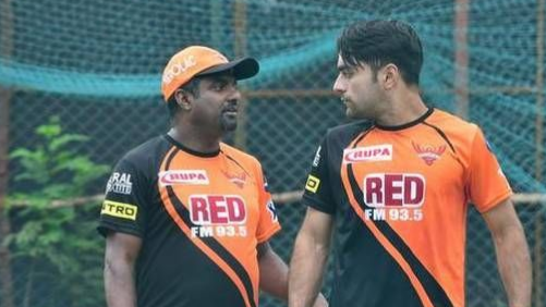 WATCH: Muttiah Muralitharan told Rashid Khan