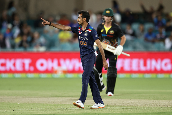 Yuzvendra Chahal last played an ODI for India against Australia in November 2020   Getty